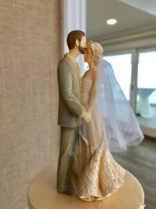Cape Cod Wedding Cake Topper